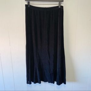Chico's Travelers Black Maxi Skirt